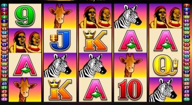 50 Lions Slotautomat