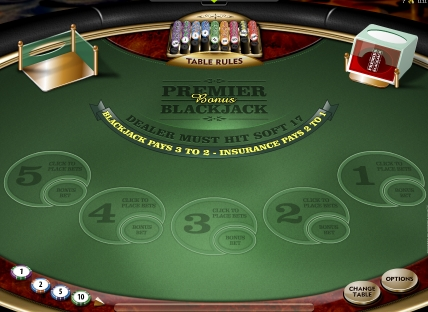 Premier Bonus Blackjack Multi-…