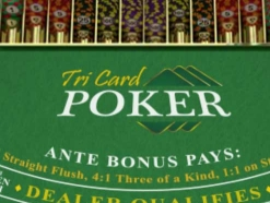 Arrows Edge Tri Card Poker
