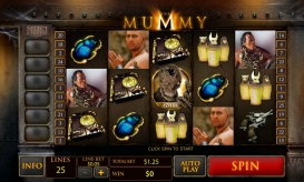 The Mummy Online Spielautomat