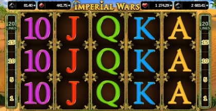 Imperial Wars Online Slot