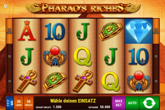 Pharaos Riches grati…