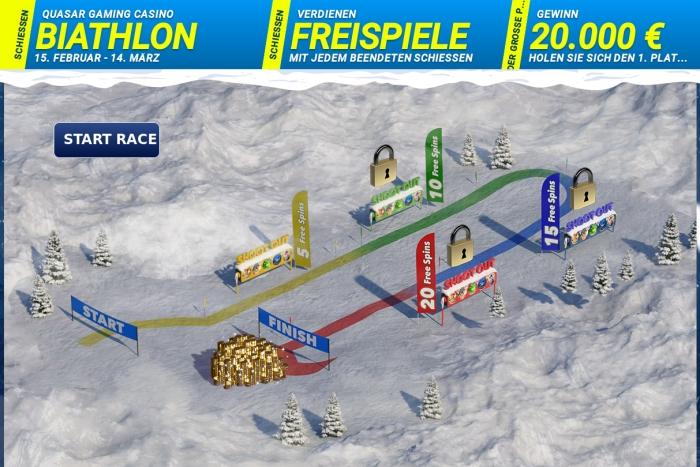 biathlon spielfeld