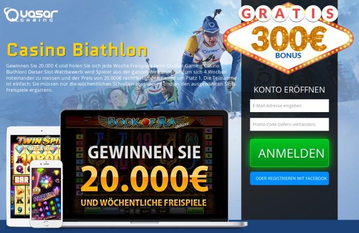 casino biathlon registrierung